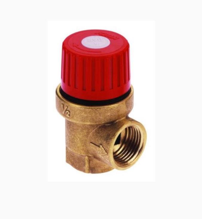 Клапан предохранительный перепускной с двумя мембранами