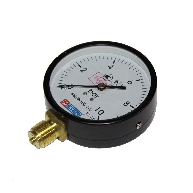 Манометр ДМ 02-100-1-G на диапазон 0...16 бар кл точности 1.5
